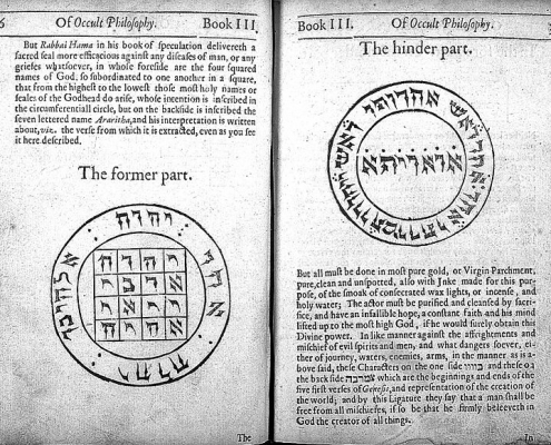 Agrippa, Book of occult definition philosophy